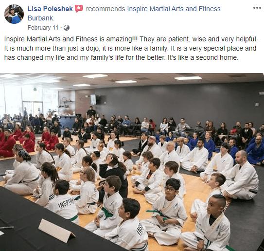 Adult 1, Inspire Martial Arts & Fitness Burbank CA