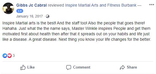 Adult 2, Inspire Martial Arts & Fitness Burbank CA