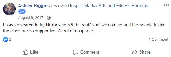 Adult 5 Kick, Inspire Martial Arts & Fitness Burbank CA