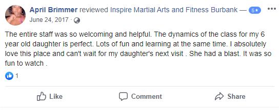 Kids 3, Inspire Martial Arts & Fitness Burbank CA