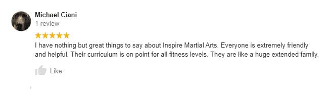 Health1, Inspire Martial Arts & Fitness Burbank CA
