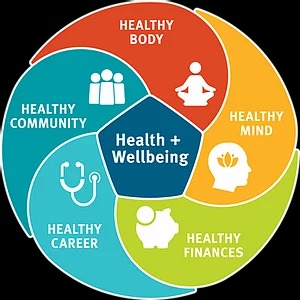 Health Wellbeing Strategy Diagram, Inspire Martial Arts & Fitness Burbank CA